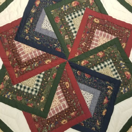 Spin Star Wall Hanging - Family Farm Handcrafts