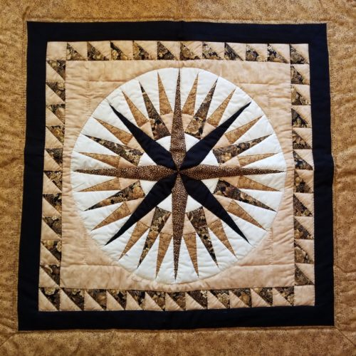 Mariner's Compass Wall Hanging - Family Farm Handcrafts