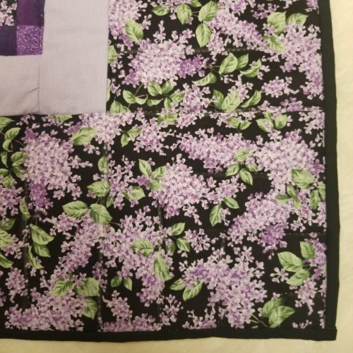 Postage Stamp Throw Quilt - Family Farm Handcrafts`