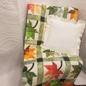 Autumn Splendor Throw Quilt - Family Farm Handcrafts
