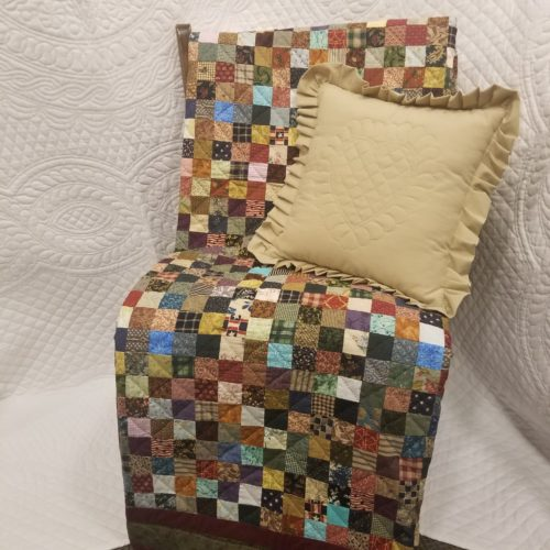 Granny Square Throw Quilt - Family Farm Handcrafts