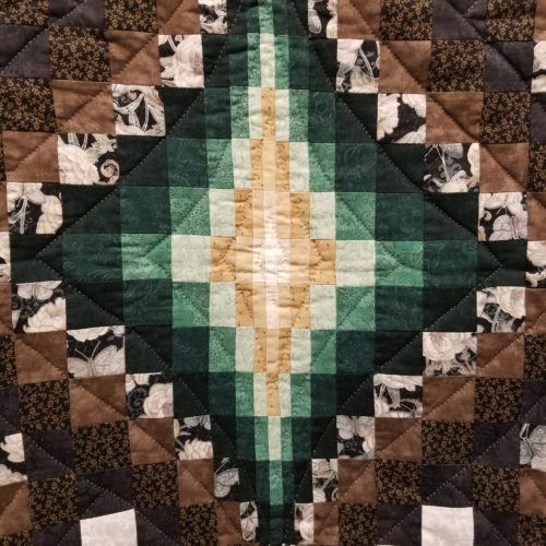 Argyle Throw Quilt - Family Farm Handcrafts