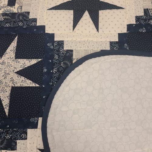 Eight Point Star Quilt - Queen - Family Farm Handcrafts
