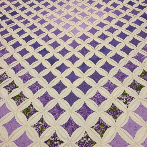 Cathedral Window Quilt-Queen-Family Farm Handcrafts