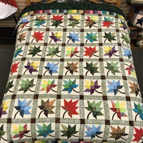 Autumn Splendor Quilt- Queen - Family Farm Handcrafts