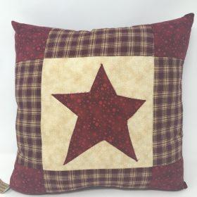 Primitive Star Pillow- Family Farm Handcrafts