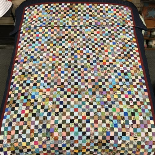 Granny Squares Quilt- Twin- Family Farm Handcrafts