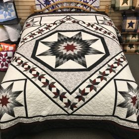 Twinkling Star Quilt- Queen- Family Farm Handcrafts