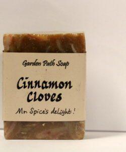 Homemade Lye Soap - Cinnamon Cloves