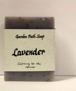 Homemade Lye Soap - Lavender