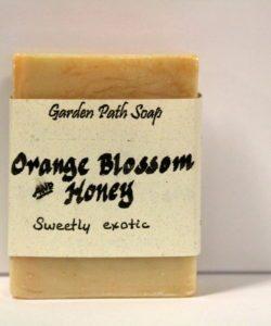 Homemade Lye Soap - Orange Blossom and Honey