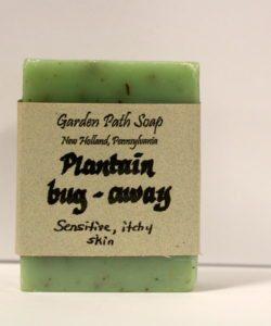 Homemade Lye Soap - Plantain Bug-Away