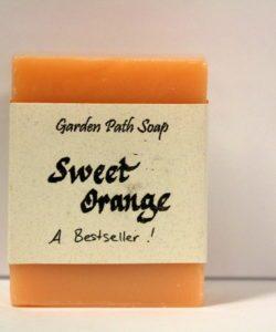 Homemade Lye Soap - Sweet Orange