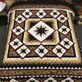 Starry Night Quilt- King- Family Farm Handcrafts