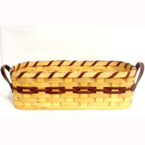 Hand-woven bread basket - small