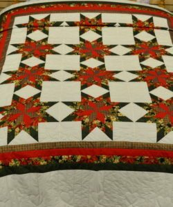 Colonial Star - Christmas (F266) queen-96x112