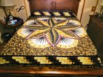Log Cabin Quilt- King 1