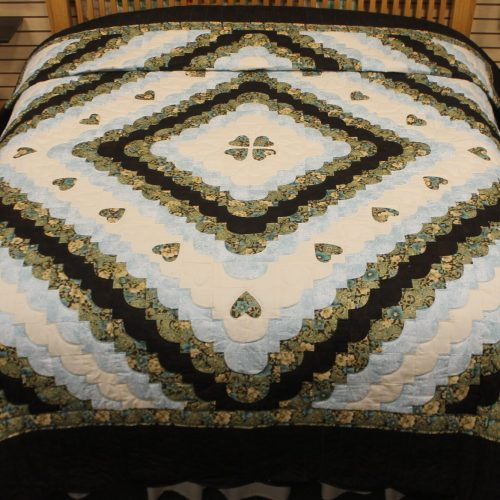Heart Quilt for sale - Hearts All Around - Family Farm Quilts