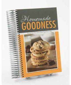 Homemade Goodness Cookbook - Bald Eagle Boys Camp