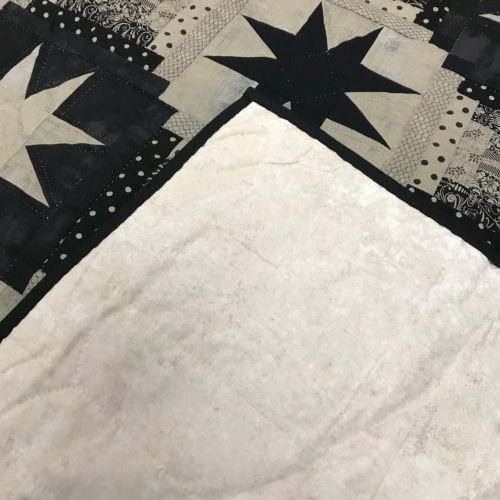 Eight Point Star Quilt - Queen - Family Farm Handcrafts