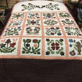 Rose Applique Sampler Quilts - Queen - Family Farm Handcrafts