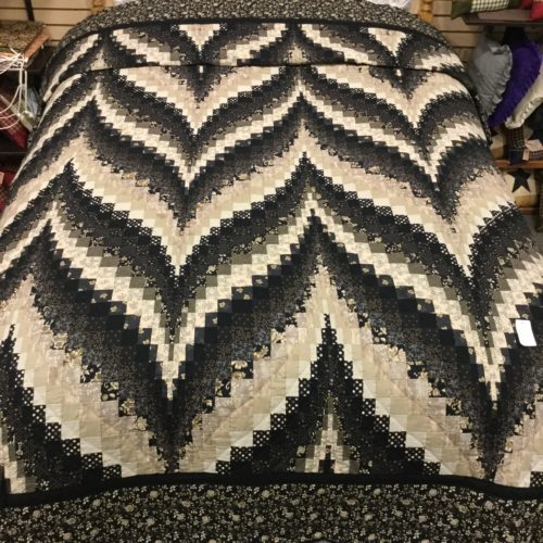 Bargello Flame Quilts - Queen - Family Farm Handcrafts