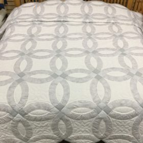 Wedding Ring Quilts - King - Family Farm Handcrafts