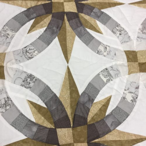 Star Wedding Ring Quilts - Queen - Family Farm Handcrafts