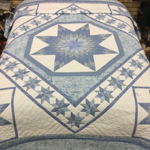 Twinkling Star Quilt - Queen - Family Farm Handcrafts