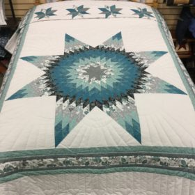 Lone Star Quilt - Queen - Family Farm Handcrafts