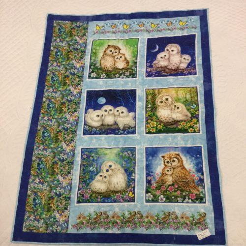 Owl Baby Quilt - Family Farm Handcrafts