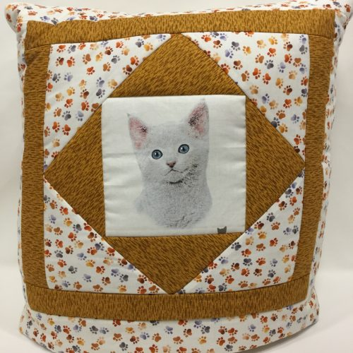 Cat Quillow - Family Farm Handcrafts