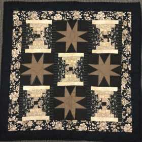 Eight Point Star Wallhanging - Family Farm Handcrafts