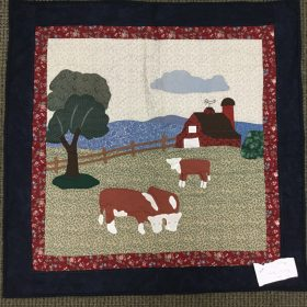 Farm Scene Wall Hanging - Family Farm Handcrafts