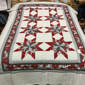 Colonial Star Quilt - Twin - Family Farm Handcrafts