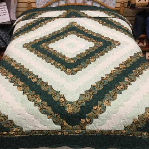 Ocean Wave Quilt - Twin - Family Farm Handcrafts