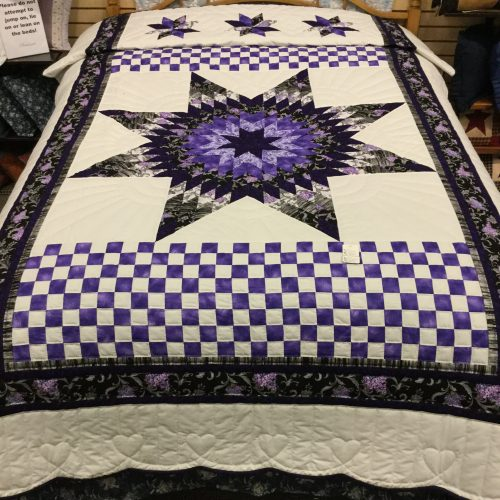 Lone Star Quilt - Twin - Family Farm Handcrafts