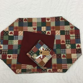 Placemats with Napkins and Coasters - Family Farm Handcrafts