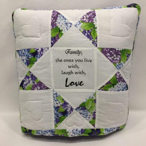 Inspirational Quillow - Family Farm Handcrafts