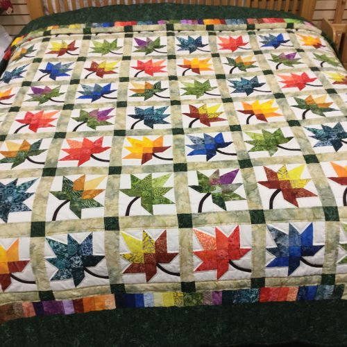 Autumn Splendor Quilt - King - Family Farm Handcrafts