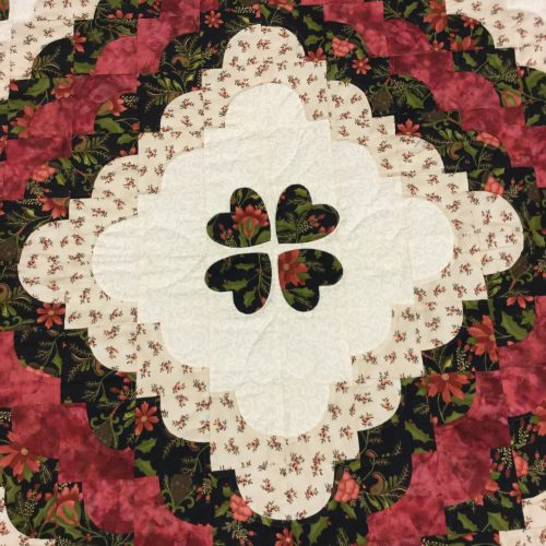 Hearts All Around Quilt - Queen - Family Farm Handcrafts