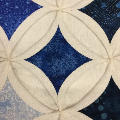 Cathedral Windows Quilt - King - Family Farm Handcrafts