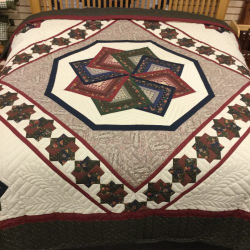 Spin Star Quilt - King - Family Farm Handcrafts