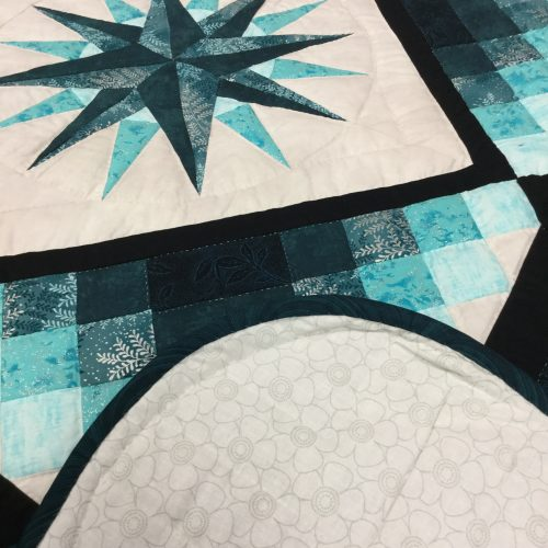 Starry Night Quilt - Queen - Family Farm Handcrafts
