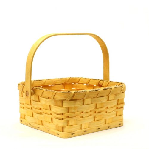 Amish-made basket with handle - Medium Berry Basket