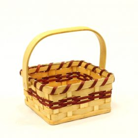 Amish-made Berry Basket with handle