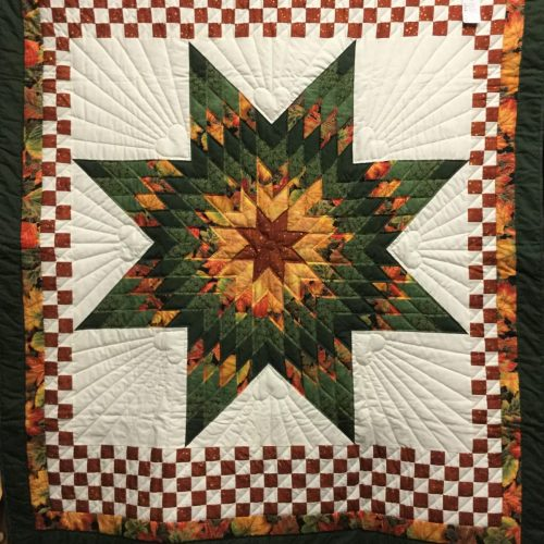 Family Farm Quilts of Shady Maple-Wall Hangings-Lone Star Wall Hangings