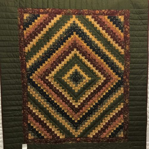 Family Farm Quilts of Shady Maple-Small Throw Quilt-Postage Stamp Throw Quilt