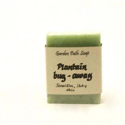 Bug Repellant Soap - Plantain Soap - Plantain Bug Away Soap