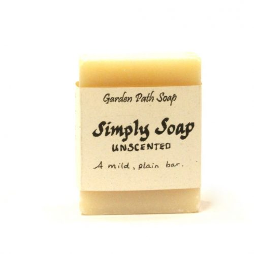 Unscented Soap Bar - Simply Soap - Handmade Lye Soap